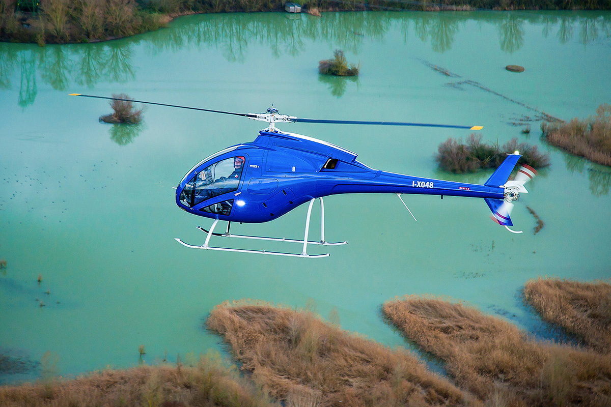 Zefhir Helicopter in action - Curti Aerospace Division